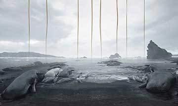 image tout l'art de death stranding
