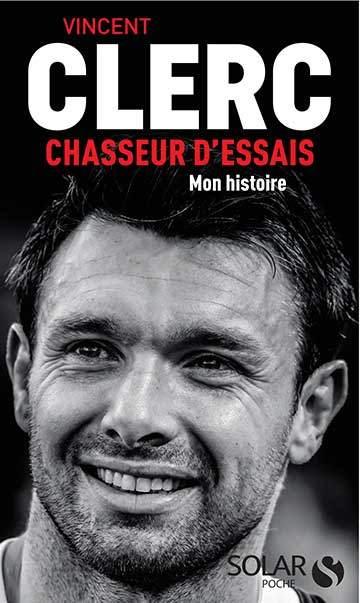 couverture livre vincent clerc chasseur d'essais éditions solar