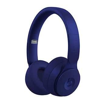 image casque audio bleu foncé beats by dr dre solo pro