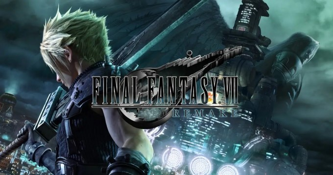 image artwork final fantasy vii remake