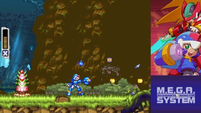 image gameplay mega man zero zx legacy collection