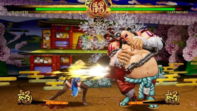 image gameplay samurai shodown