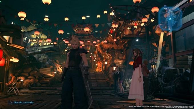 image gameplay final fantasy 7 remake