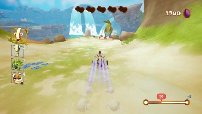 image gameplay gigantosaurus le jeu
