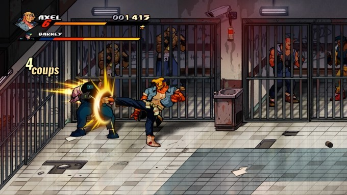 image gameplay streets of rage 4