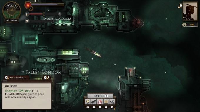 image gameplay sunless sea