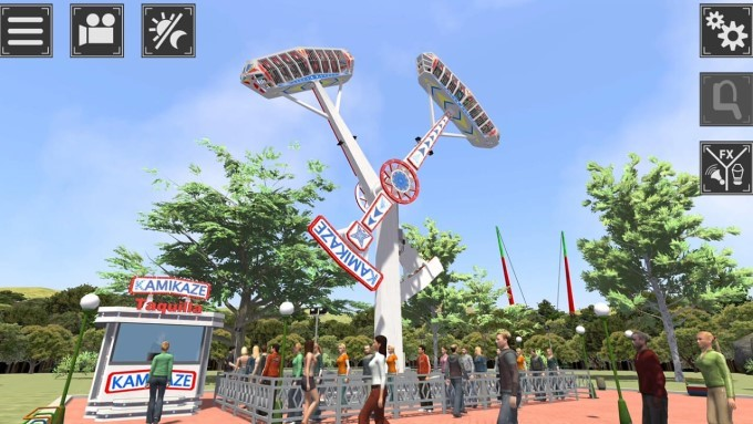 image test theme park simulator