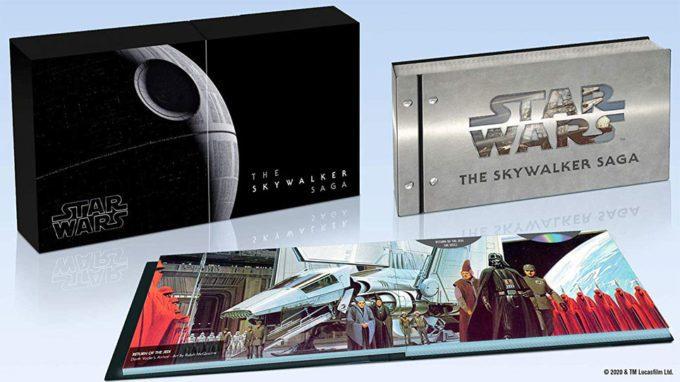 image 4K la saga skywalker coffret
