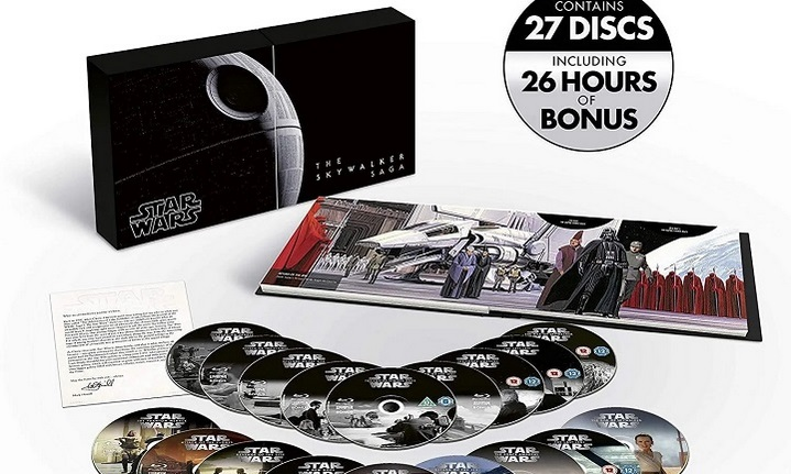 image article 4k la saga skywalker coffret