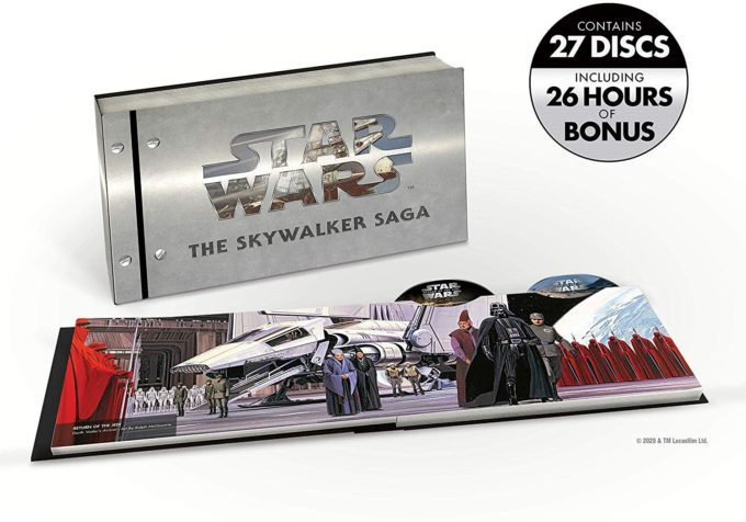 image coffret la saga skywalker 4k