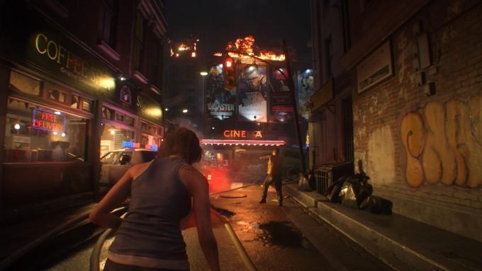 image gameplay resident evil 3