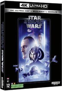 image blu ray 4k la menace fantome star wars episode I