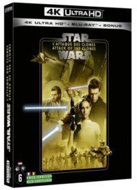image blu ray 4k l attaque des clones épisode II star wars