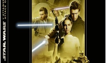 image article blu ray 4k l attaque des clones épisode II star wars