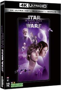 image blu ray 4k un nouvel espoir episode IV star wars