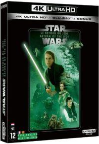 image blu ray 4k le retour du jedi episode VI star wars