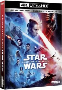 image blu ray 4k l'ascension de skywalker episode IX star wars