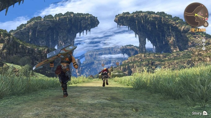image gameplay xenoblade chronicles