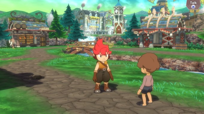 image gameplay little town hero