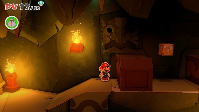 image gameplay paper mario the origami king