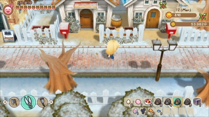 image gameplay story of seasons friends of mineral town