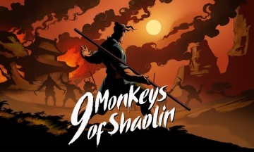 image logo 9 monkeys of shaolin