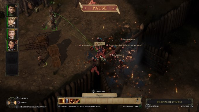 image gameplay pathfinder kingmaker