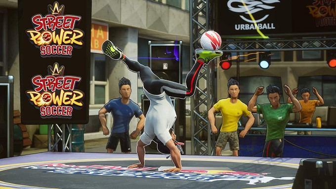 image gameplay street power football