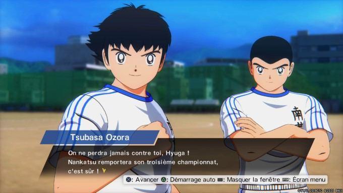 image gameplay captain tsubasa rise nex champions