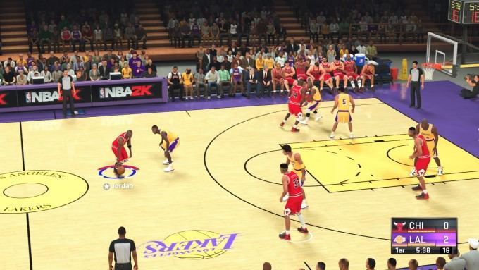 image gameplay nba 2k21