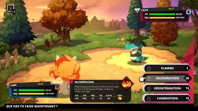 image gameplay nexomon extinction