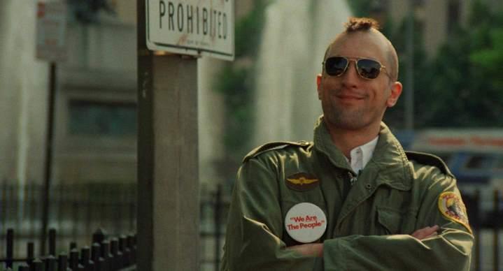 "Robert deNiro dans ""Taxi Driver"" de Martin Scorsese (1976)"