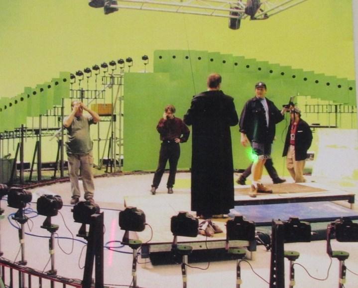 """Préparation de la séquence """"bullet time"""" de Matrix."""