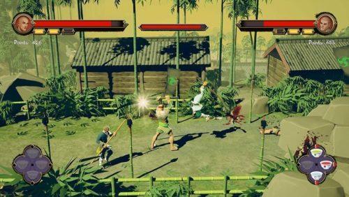 image gameplay 9 monkeys of shaolin