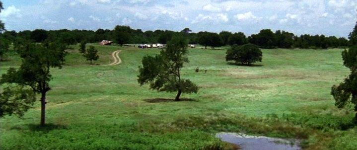 L'Arcadie des premiers colons, dernier plan du film Un Monde Parfait.