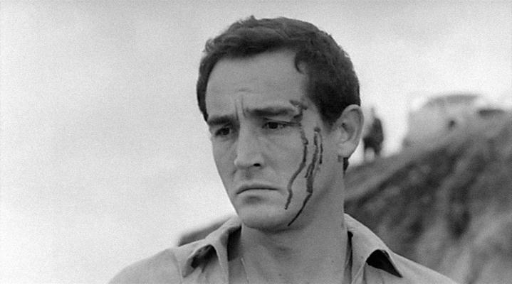 Bruno (Vittorio Gassman) à la fin du Fanfaron.