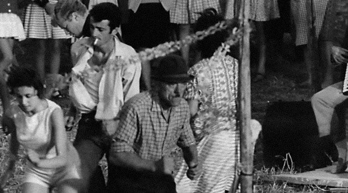 """""""Twist à la péquenot"""". Un vieux paysan dans Le Fanfaron."""