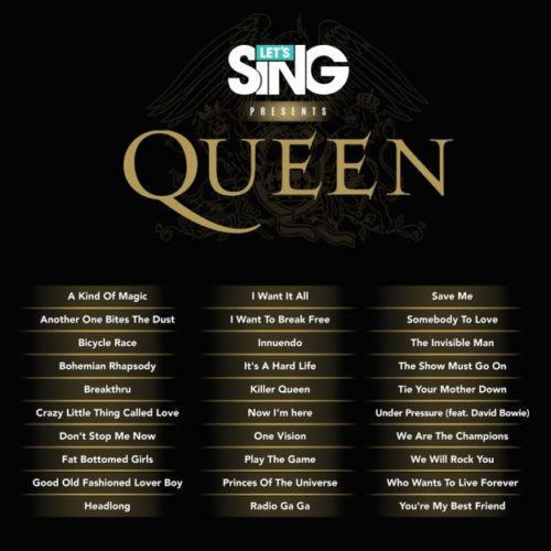 image playlist lets sing queen