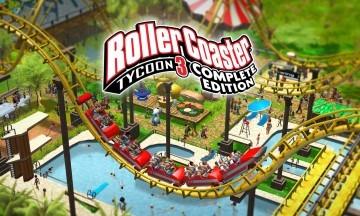 image jeu rollercoaster tycoon 3