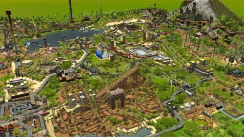 image test rollercoaster tycoon 3