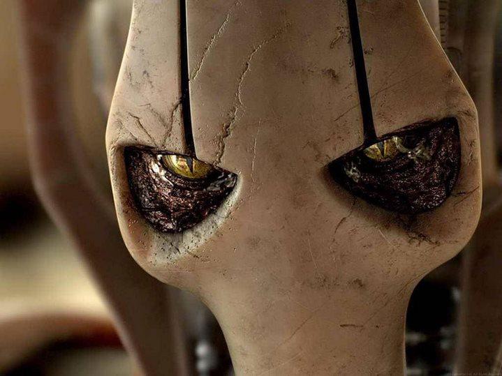 Grievious dans Star Wars, Episode III, La Revanche des Sith.