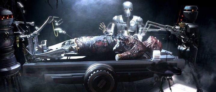 Anakin Skywalker devient Dark Vador à la fin de Star Wars, Episode III, La Revanche des Sith.