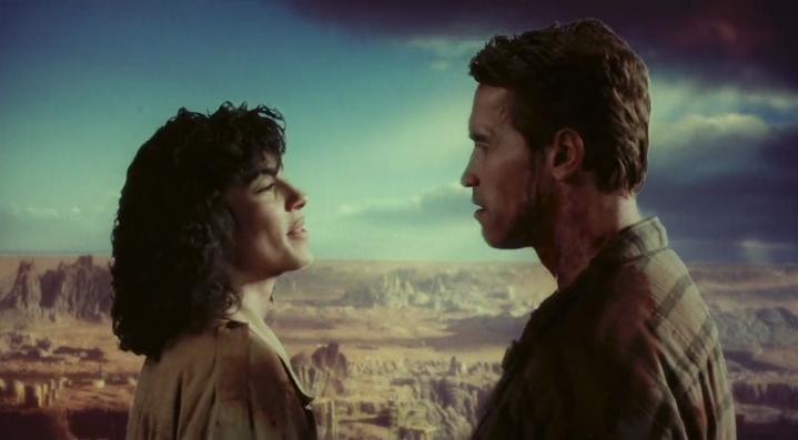 Un rêve de Mars hollywoodien (image du film Total Recall).