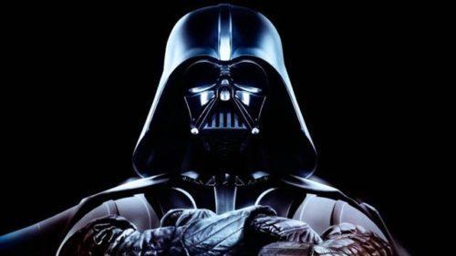 Dark Vador dans Star Wars de George Lucas