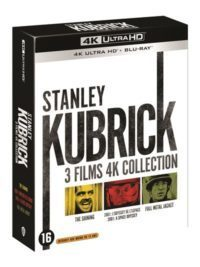 blu-ray 4k 3 films stanley kubrick coffret