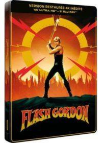image blu ray 4k steelbook flash gordon
