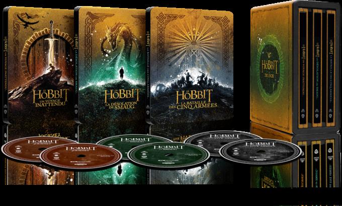 image 4k le hobbit coffret