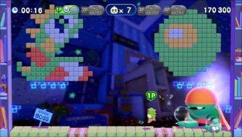 image gameplay bubble bobble 4 friends
