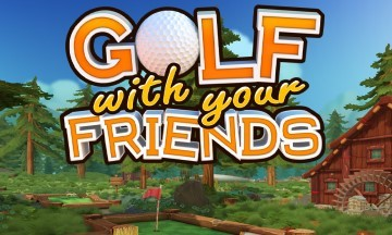 image jeu golf with your friends