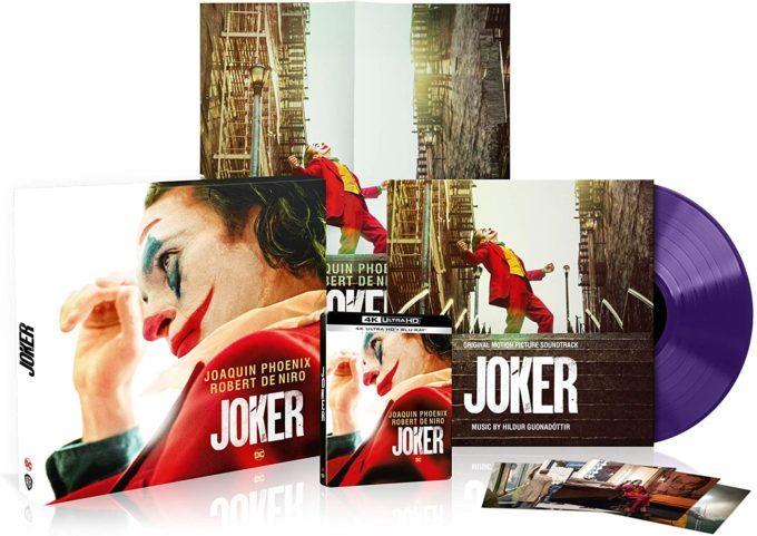 image vinyl joker 4k coffret